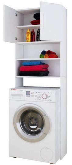 VCM Jutas   Waschmaschinen Überbau Schrank für 39,99€