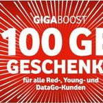 Jetzt aktiv: Einmalig 100GB Datenvolumen gratis   nur für Vodafone Vertragskunden