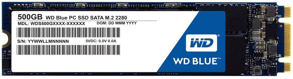 Western Digital SSD Typ M.2 mit 500 GB für nur 133,61€