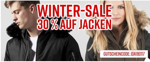 Jeans direct mit 30% Rabatt auf Winter Jacken, auch im Sale