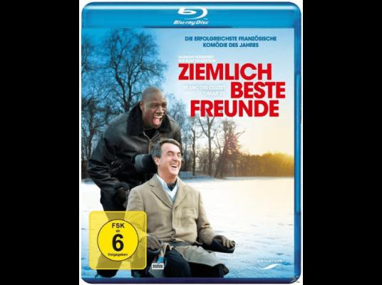 Ziemlich beste Freunde (Blu Ray) für 4,49€ (statt 9€)