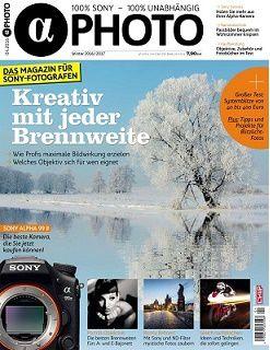 Mini Abo: 4 Ausgaben Alpha Photo + Rucksack oder Helios Faltreflektor für 29,90€