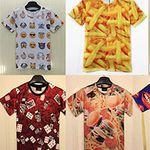 Ausgefallene T-Shirts im 3D Druck Motiv für je 10,42€