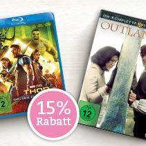 15% Rabatt auf Filme & Serien bei Thalia