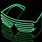 LED Brille mit Soundsteuerung für 5,95€