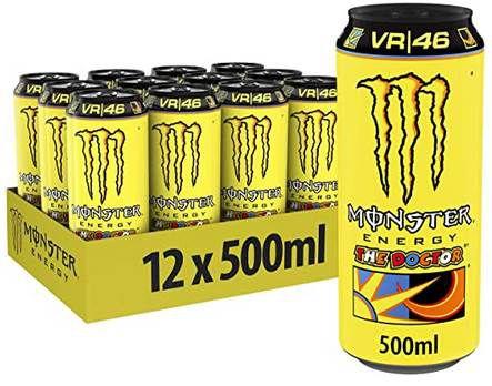 12er Pack Monster Rossi Energydrink je 500ml für 10,56€ + 3€ Pfand   88 Cent je Dose