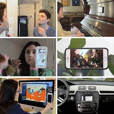Anti Gravity Handyhülle für iPhone & Samsung je 2,80€