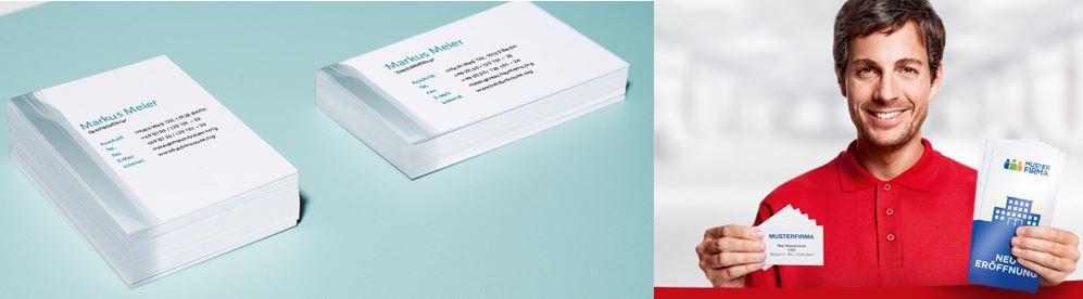 Cewe Print: 10€ Gutschein ohne MBW   günstige Visitenkarten & Co.