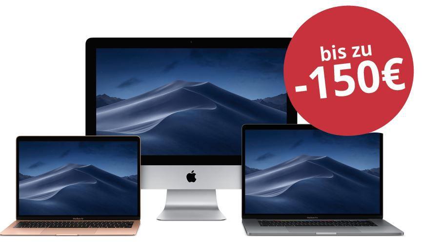 MacTrade: bis 150€ Rabatt auf iMac, MacBooks & Co. + EDU Rabatt