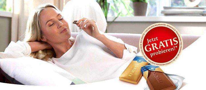 Bis zu 4 Merci Tafeln Schokolade gratis probieren