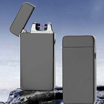 Plasma Feuerzeug mit doppeltem Lichtbogen für 8,85€