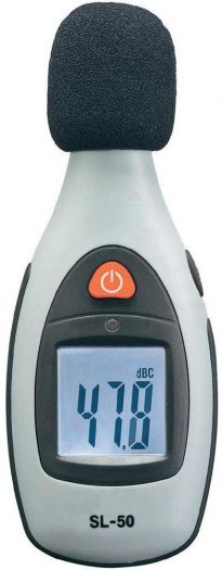 SL 50 Schallpegel Messgerät für 16,99€ (statt 34€)