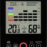 ADE WS 1501 – Hygrometer mit Schimmelalarm für 11,99€