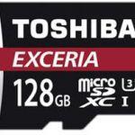 Toshiba Exceria – microSDXC mit 128 GB für 31,94€ (statt 38€)