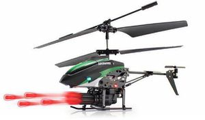 V398 Helikopter mit Raketenwerfer in Rot oder Grün für 19,67€