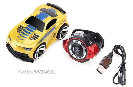 Sprachgesteuertes RC Car mit Uhr für 16,99€