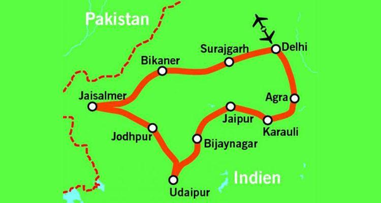 16 Tage Indien Rundreise inkl. Flug, HP, ALLE Transfers & Ausflüge (inkl. Taj Mahal) ab 999 p.P.