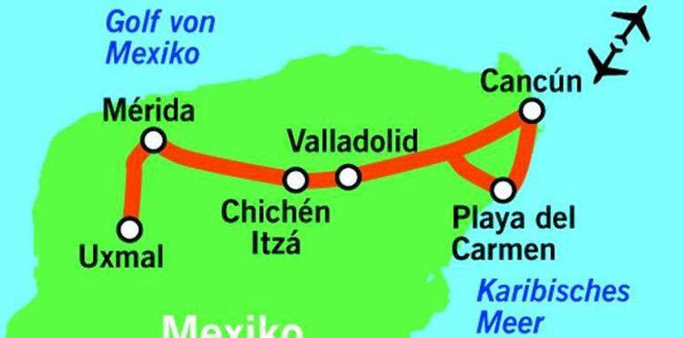 11 Tage Mexiko Rundreise inkl. Flug, Verpflegung (mind Frühstück bis All Inklusive), alle Transfers & Ausflüge ab 1299€ p.P.