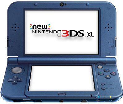 New Nintendo 3DS XL in Metallic Blau für 166€ (statt 187€)