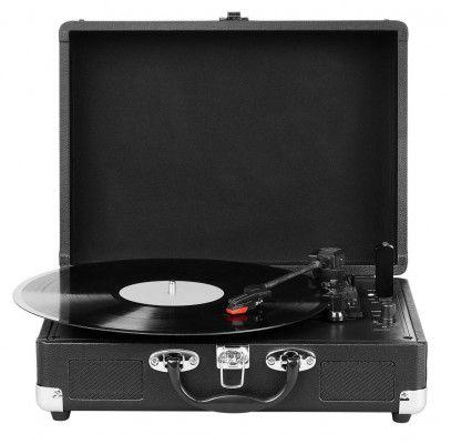Medion E64065 (MD 80018)   portabler Schallplattenspieler mit MP3 Konvertierung für 49,59€ (statt 55€)