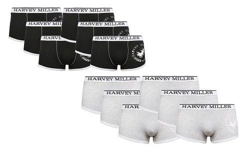 6er Pack Harvey Miller Boxershorts für 19,99€ (statt 25€)