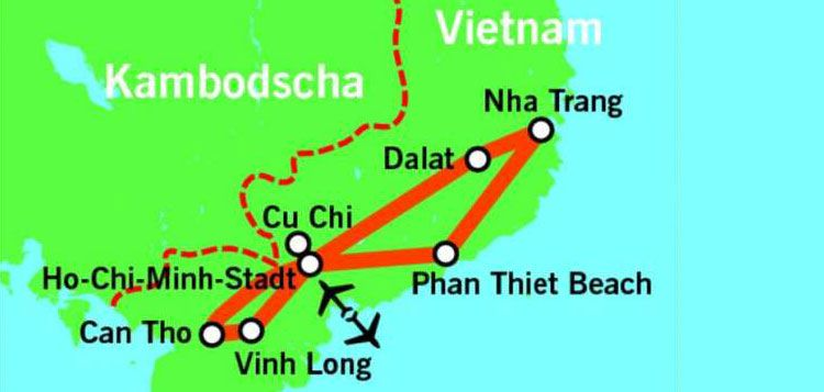 16 Tage Südvietnam Rundreise inkl. Flug, Verpflegung (mind. Frühstück bis HP), alle Transfers & Ausflüge ab 1199€ p.P.