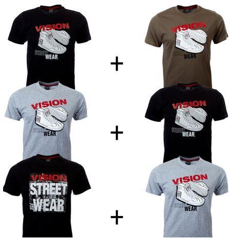 Vision Street Wear   2er Pack Herren T Shirts für 11,99€
