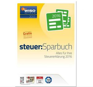 WISO steuer Sparbuch 2017 (Steuer 2016) für 17,99€