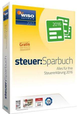 wiso steuer sparbuch Buhl WISO steuer Sparbuch 2017 (Steuer 2016) für 19,99€