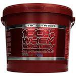 Scitec Nutrition 100% – 5 kg Whey (MHD: 29.05.2017) für 44,95€ (statt 78,31€)