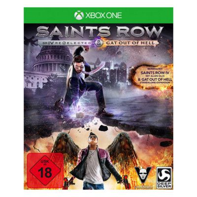 Vorbei! Saints Row IV Re elected + Gat Out of Hell (Xbox One) für 7€ (statt 15€)