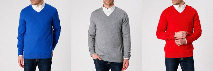 Gaastra Sale mit bis zu 65% bei vente privee   z.B. Pullover mit V Ausschnitt in Grau für 39,99€ (statt 80€)
