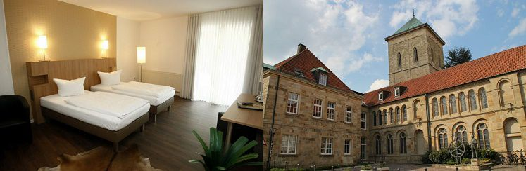 2 ÜN im 4* Hotel in Osnabrück inkl. Frühstück, 3 Gänge Menü, Sauna & Zoo ab 129€ p.P.