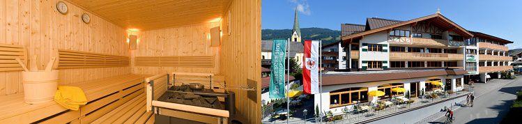 13 2 ÜN im 4* Hotel in den Kitzbühler Alpen inkl. Halbpension + Wellness ab 119€ p.P.