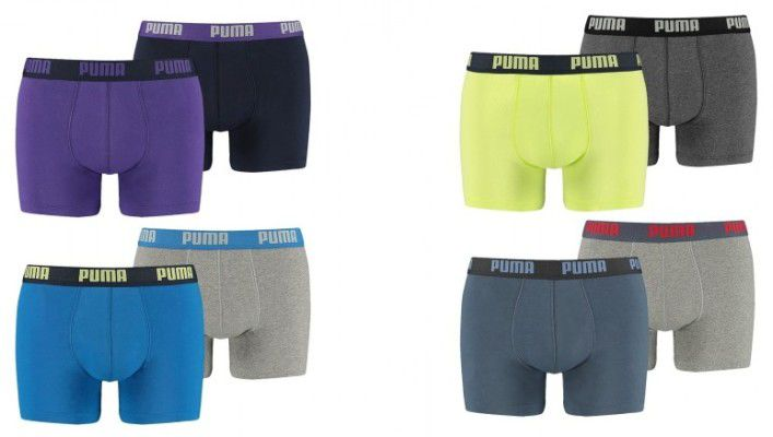 1300 puma basic fashion hw16 0000 561 7661 e1487515972644 4er Packs Puma Basic Boxershorts für 19,98€ (statt 25€)