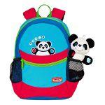 Scouty Kinderrucksack Panda mit Plüschfigur für 18,94€ (statt 30€)