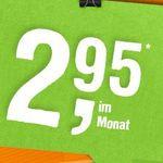 Wieder da! Telekom Smart 400 mit 400MB + 100 Minuten für 2,95€ mtl.