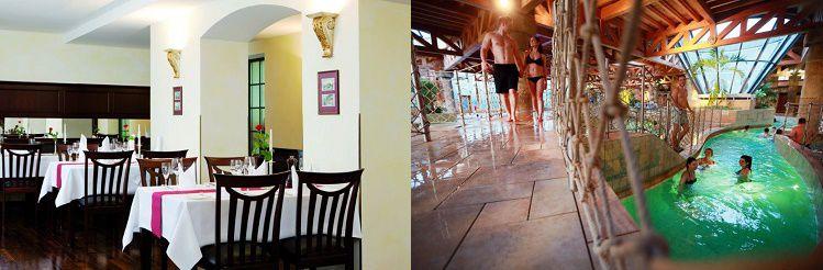 1   3 ÜN im 4* Hotel inkl. Frühstück, Minibar Nutzung, Wellness + Tagesticket ins Badeparadies ab 59€ p.P.