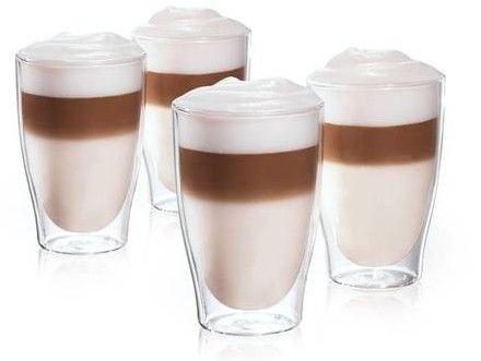 4er Set Tchibo Cafissimo Latte Macchiato Gläser für 19,95€ (statt 24€)