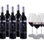 6 Flaschen Casa Safra – Selección Platino + 4 Gläser für 50€ (statt 82€)