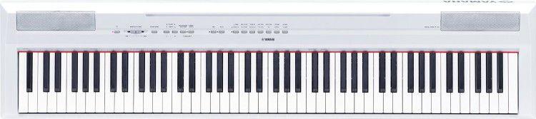 Yamaha P 115WH   Digital Piano in Weiß für 496,71€ (statt 649€)
