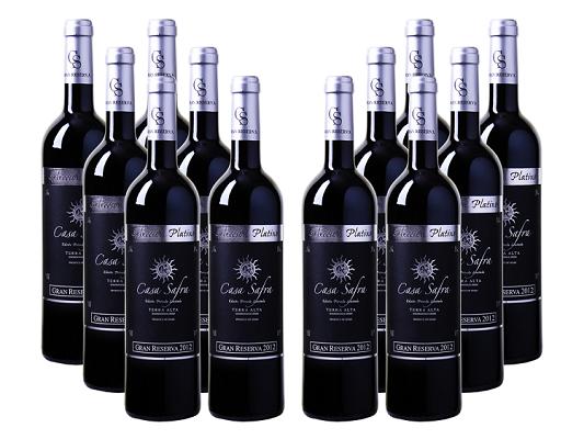 12er Paket Casa Safra   Selección Platino Gran Reserva   Terra Alta DO für 49,92€