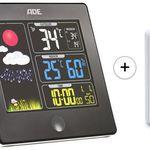 ADE Funk-Wetterstation WS1403 mit Aussensensor und Farbdisplay für 21,89€