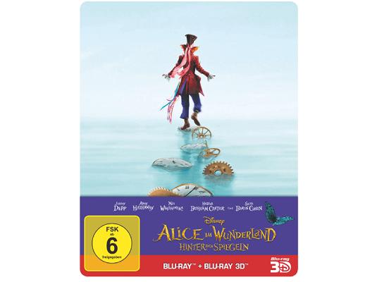 Alice im Wunderland: Hinter den Spiegeln (3D + 2D Steelbook, Blu Ray) ab 17,99€ (statt 21€)