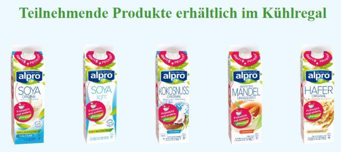 Alpro Soya Drinks gratis