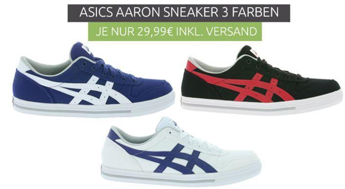 Asics Aaron   Herren Sneaker statt 48€ für 24,99€