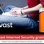 Nur heute: Avast Internet Security 2017 für 1 Jahr kostenlos (statt 49,99€)