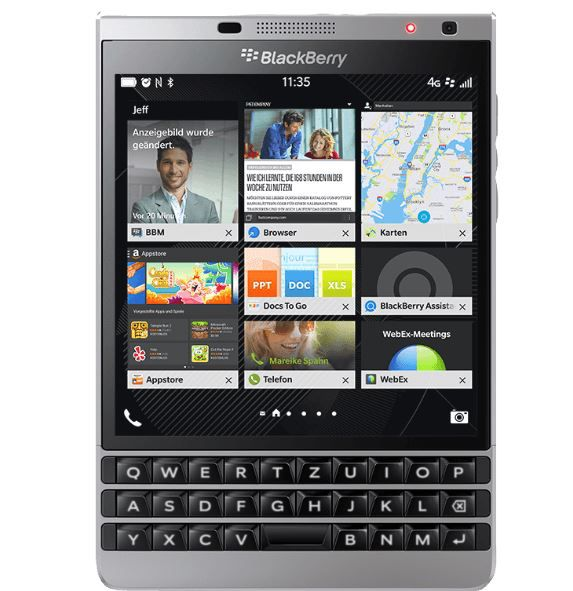 BLACKBERRY Passport Black Edition 32 GB für 200,78€