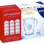Brita Marella Cool Wasserfilter + 12 Kartuschen für 47,99€