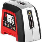 Black & Decker Laser-Wasserwaage inkl. Batterien und Transporttasche für 15,94€
